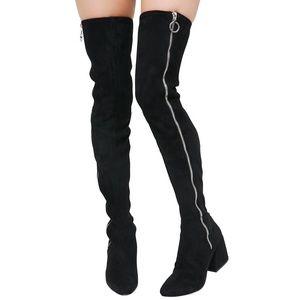 NEW Dolce Vita Thigh High Black Boot
